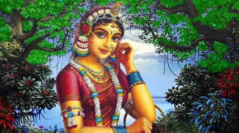 """""""श्रीराधा"""" स्व. नवल सिंह भदौरिया रचित ब्रज भाषा की कविता"""