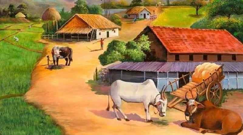 गाँव कौं चलौ - स्व. श्री नवल सिंह भदौरिया रचित ब्रज भाषा की कविता