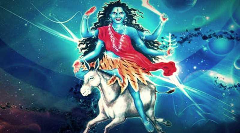 कालरात्रि माता का चित्र -Kalratri Mata Image