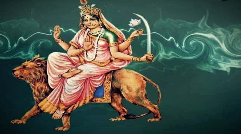 कात्यायनी माता का चित्र -Katyayani Mata Image