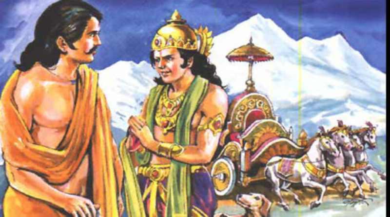 महाभारत का महाप्रस्थानिक पर्व - Mahabharat Mahaprasthanik Parva in Hindi