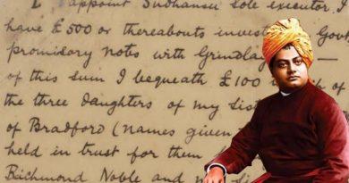 स्वामी विवेकानंद के हिंदी पत्र - Swami Vivekananda Letters In Hindi